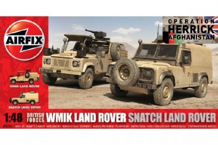 British Forces Land Rover Twin 2/12