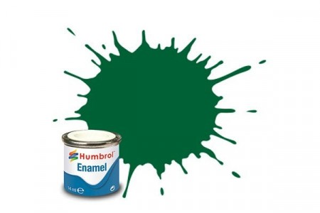Paint enamel matt 14 ml light green