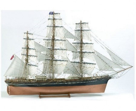 1:75 CUTTY SARK -WOODEN HULL