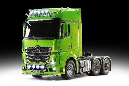 FÆRDIGMODEL, ACTROS 3363 GREEN FULL OPTION