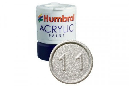 Acrylic maling Silver 14ml - Metallic