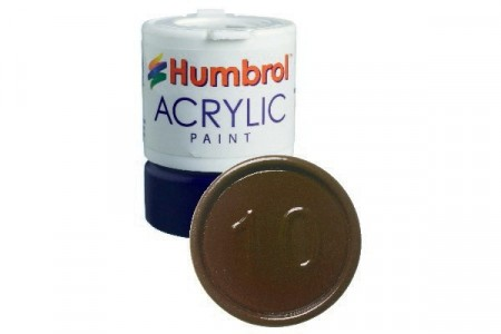 Acrylic maling Service Brown 12ml - Blank